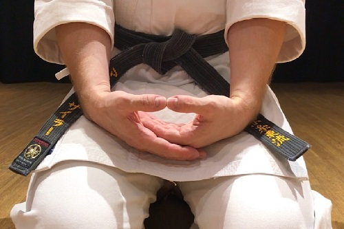 Meditation in Karatedo